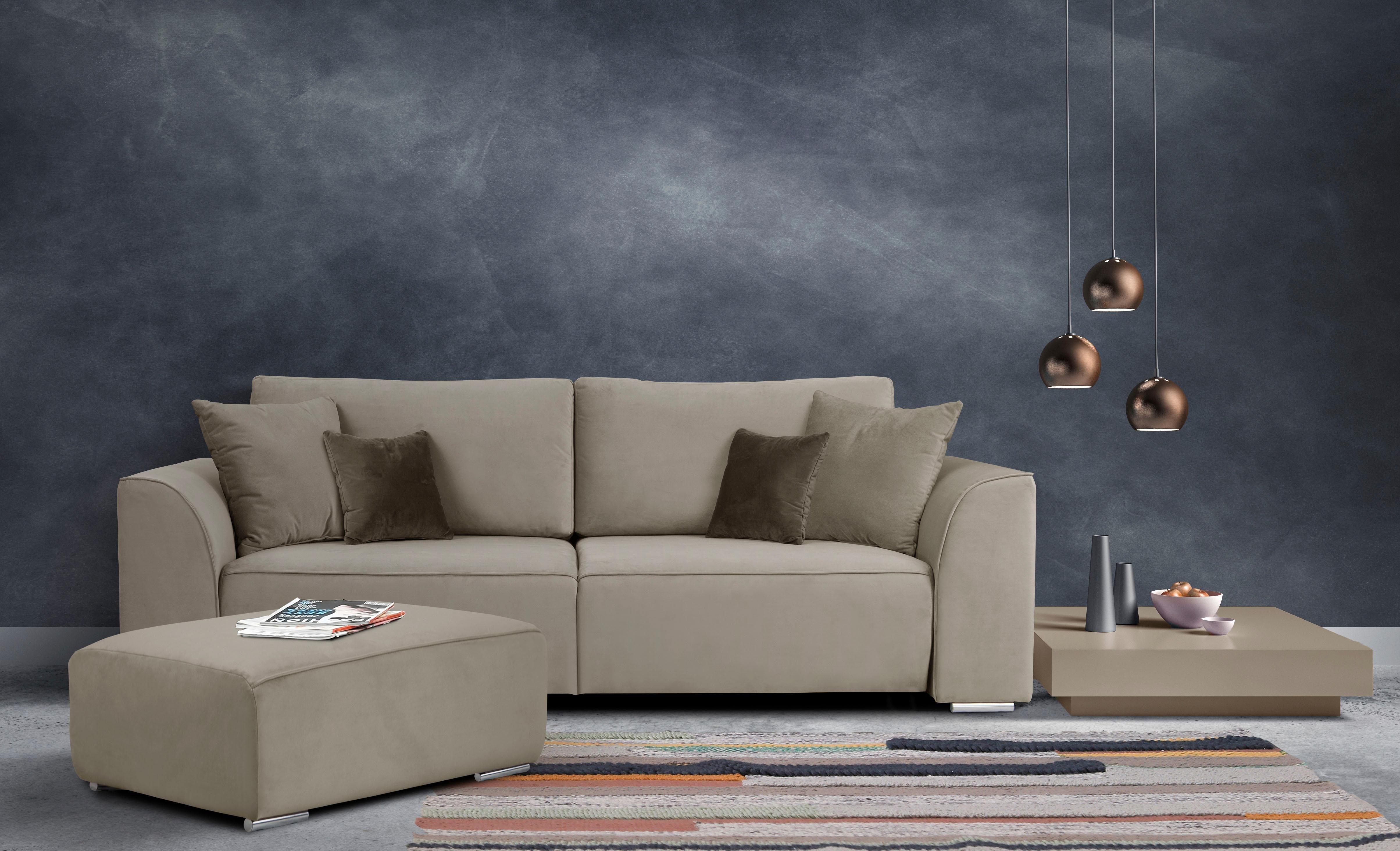 Inosign 3 Sitzer Beatrice In 2020 Design Schlafsofa Haus Deko 3 Sitzer Sofa