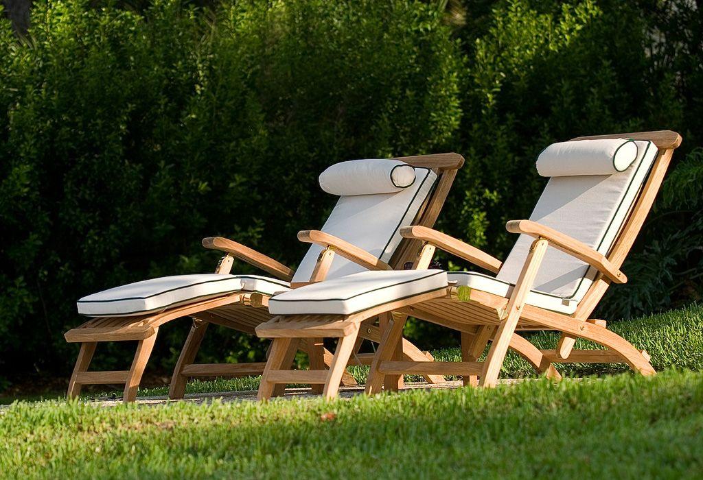 Barbuda Teak Captain Steamer Teak Outdoor Furniture Teak Outdoor Teak Lounge Chair