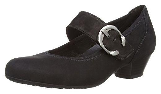 Gabor Shoes 06.139.47 Damen Knöchelriemchen Pumps,Schwarz (schwarz),38.5 EU