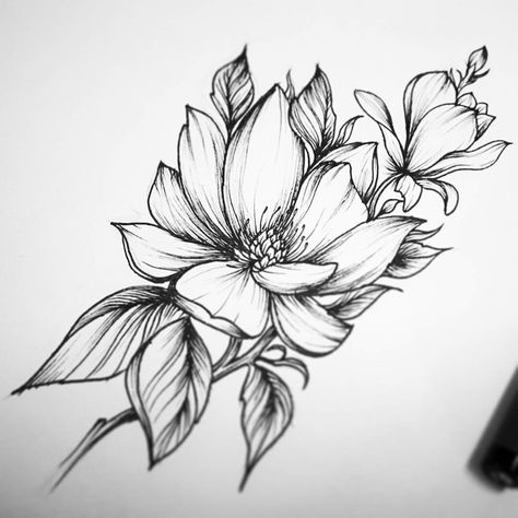 24 Ideas For Tattoo Flower Drawing Henna
