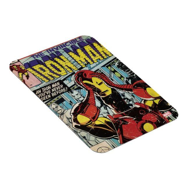 Iron Man Comic Magnet