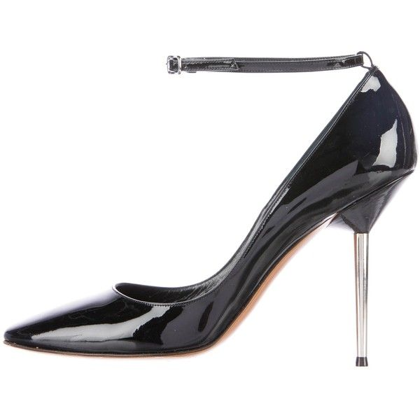 Pre-owned - Black Leather Heels Lanvin FAV0vSwQ7