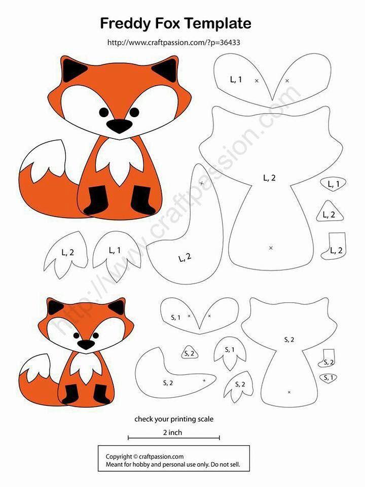 fox huggy pattern | Bebes