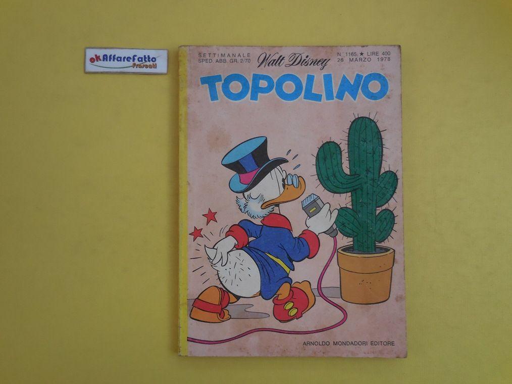 J 5219 RIVISTA A FUMETTI WALT DISNEY TOPOLINO N 1165 DEL 1978 - http://www.okaffarefattofrascati.com/?product=j-5219-rivista-a-fumetti-walt-disney-topolino-n-1165-del-1978