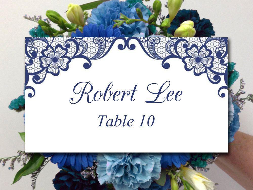 lace wedding place card template diy escort card template bella