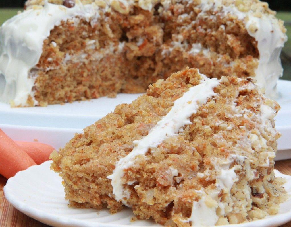 Walnut free carrot cake recipe