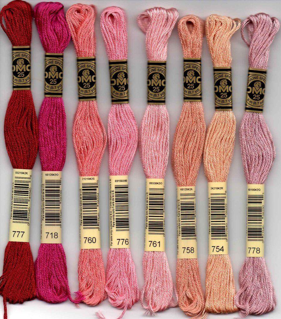 DMC Stranded Cotton Number 758