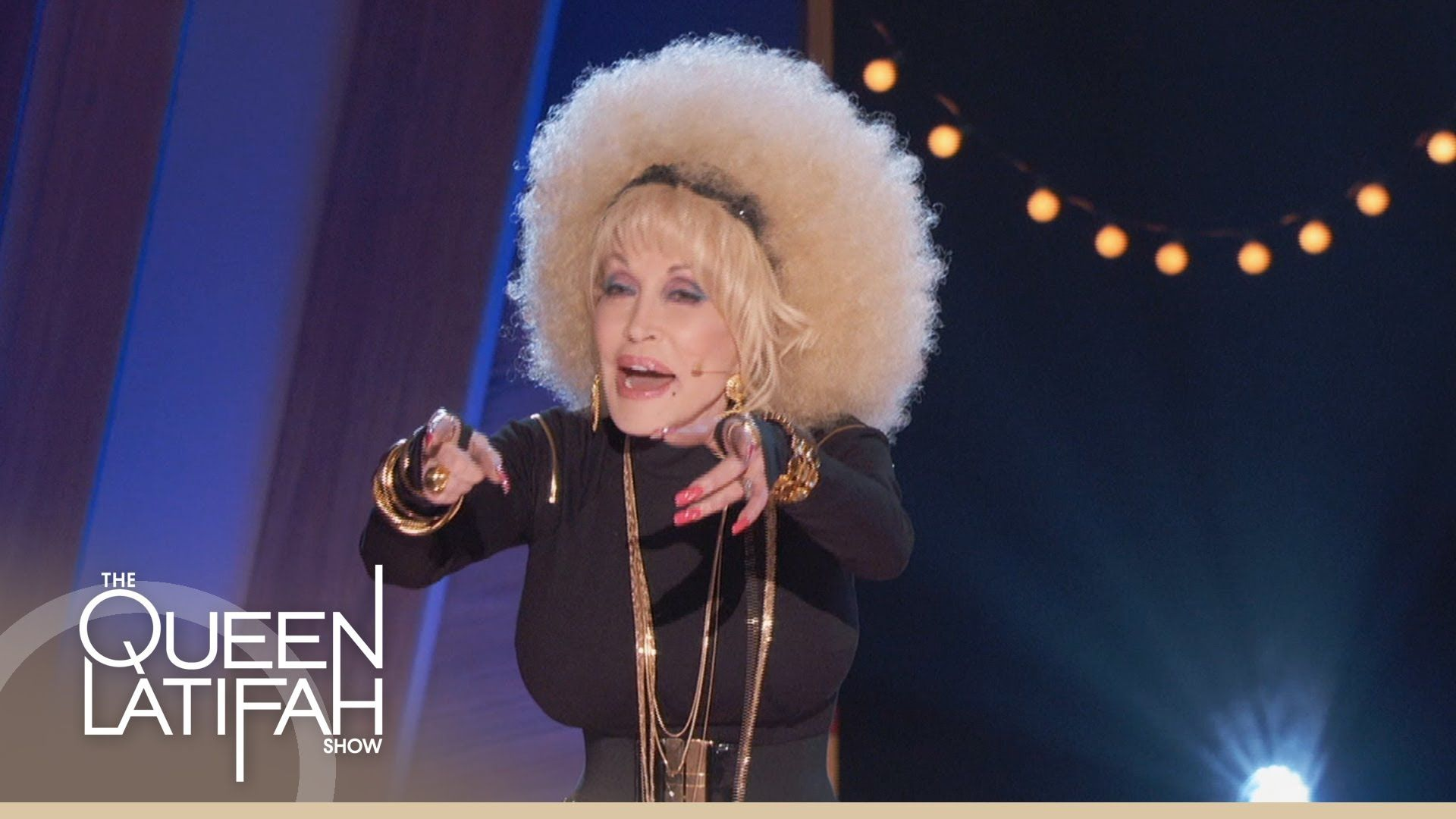 Dolly Parton Raps on The Queen Latifah Show. Dolly Parton busts out her hip-hop skills and does a special rap for Queen Latifah. For the FULL rap, tune in Monday, October 21!