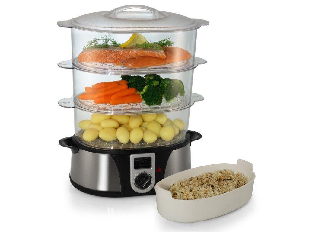 Vaporera Eléctrica Para Cocinar Al Vapor Cocina Gourmet
