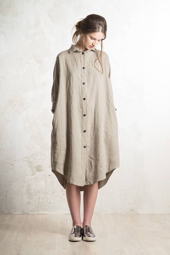 601e6c47771 Linen dress