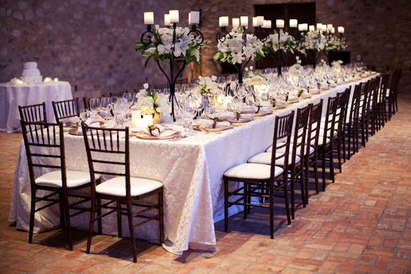 Estate Seating Wedding Reception