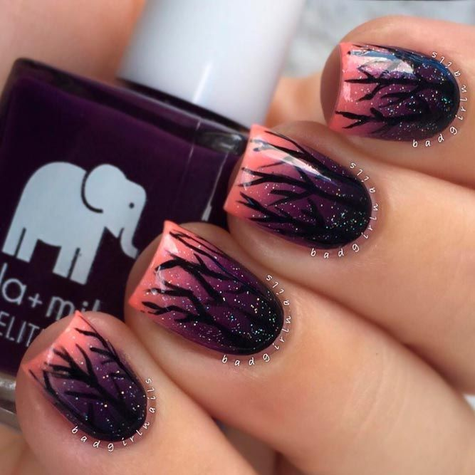 27 fall nail art designs youll love thanksgiving nails hair 27 fall nail art designs youll love prinsesfo Image collections