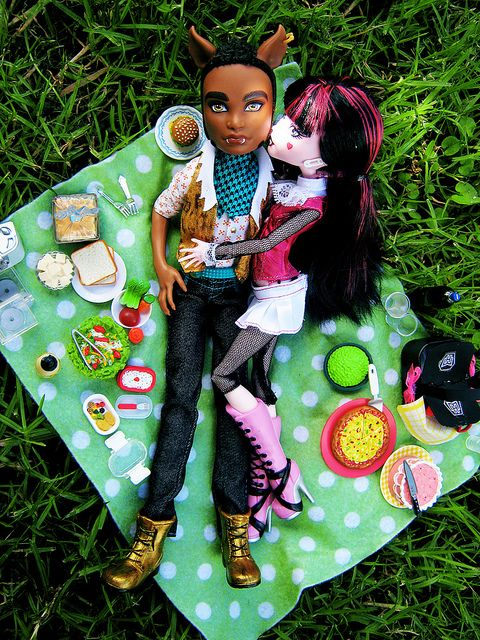 Picnic Clawd Amp Draculaura Monster High Monsters And