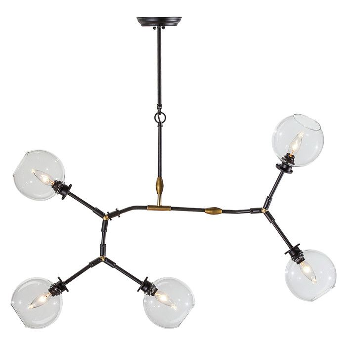 all modern lighting. brayden studio gaius 5 light pendant u0026 reviews allmodern all modern lighting r