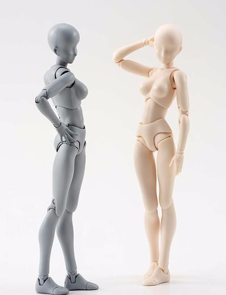 EXTENDED VERSION: Man & Woman Body-Kun Models for Artists - Scene