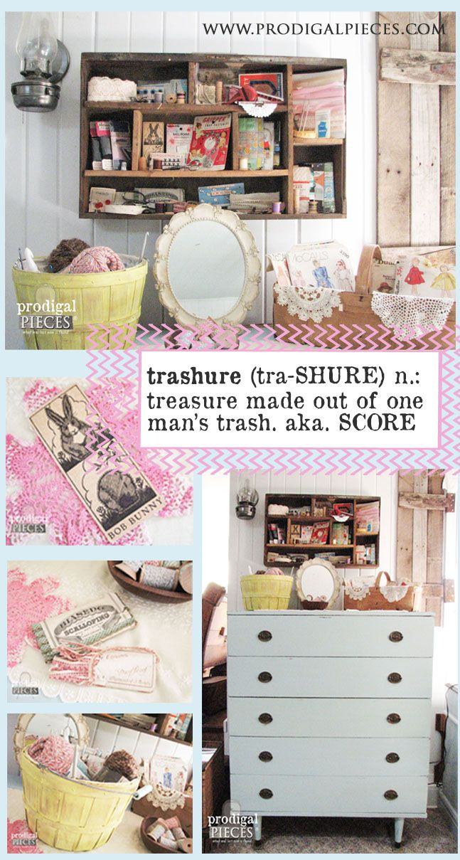 Trashure....Making Treasure Out of Trash | DIY ideas, Funky junk and ...