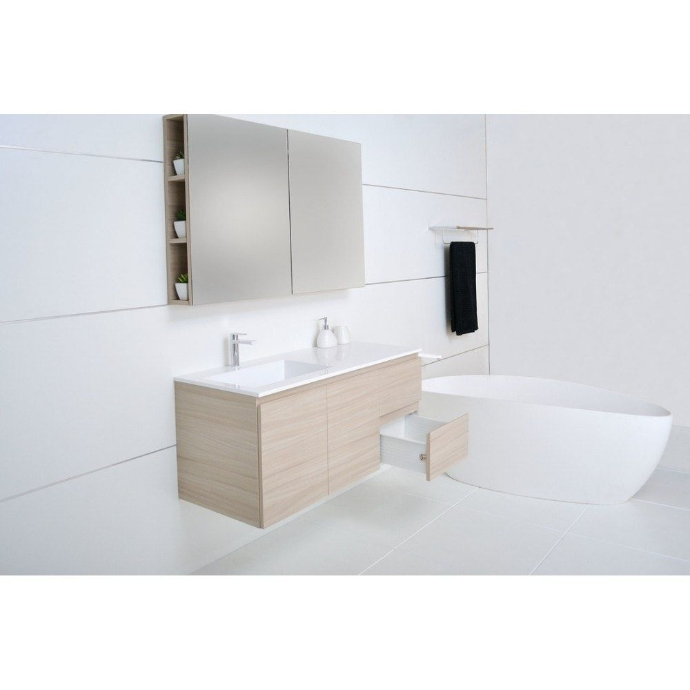 $895 ADP Summer 1200 Twin Drawer Wall Hung Vanity | Vanity Units for ...