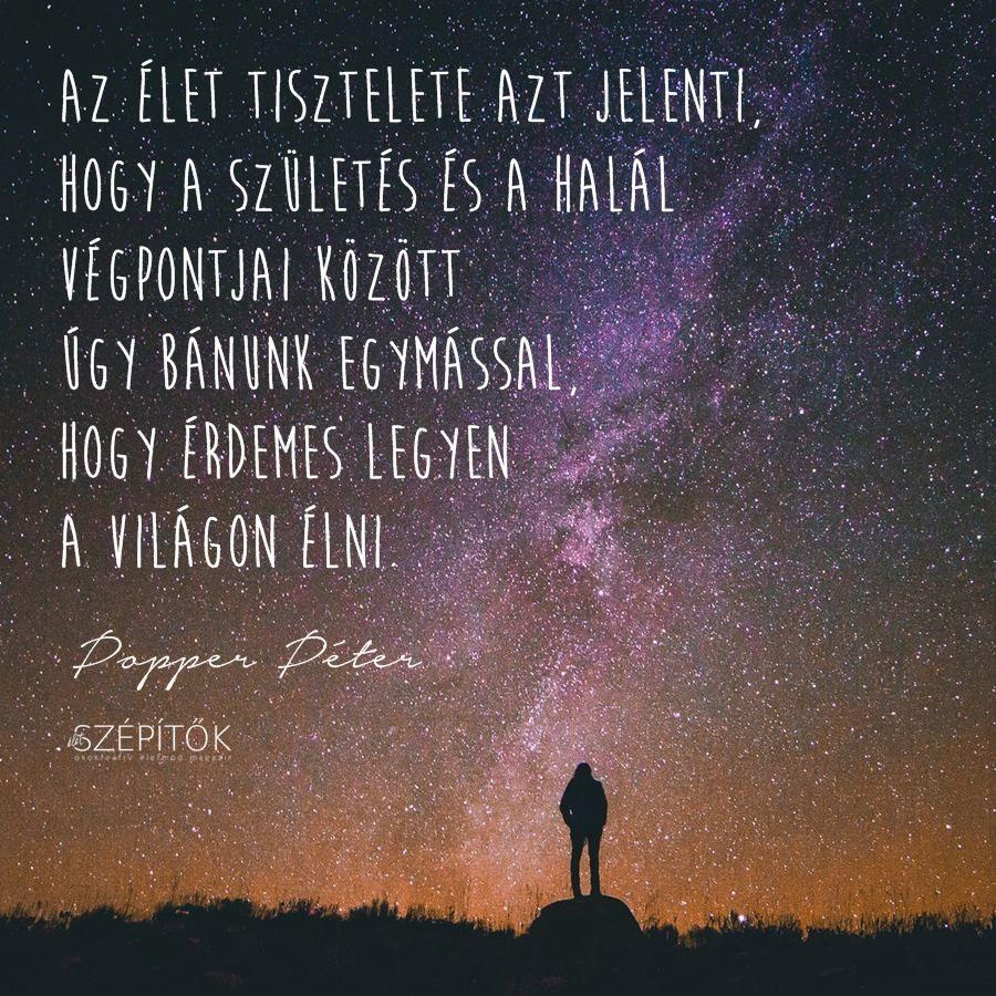 idézetek popper péter Popper Péter idézet | Life, Movie posters, Motivational quotes