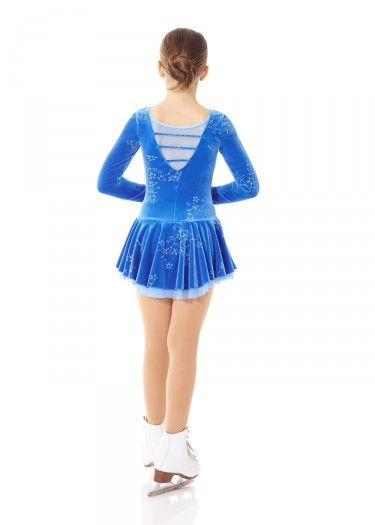 Details about  /Laced Back Born to Skate Figure Skating Dress Dragonfly