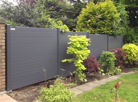 Buy Modern Style Composite Fence Price Wood Fence Per Square Foot Wpc Fence Beautiful