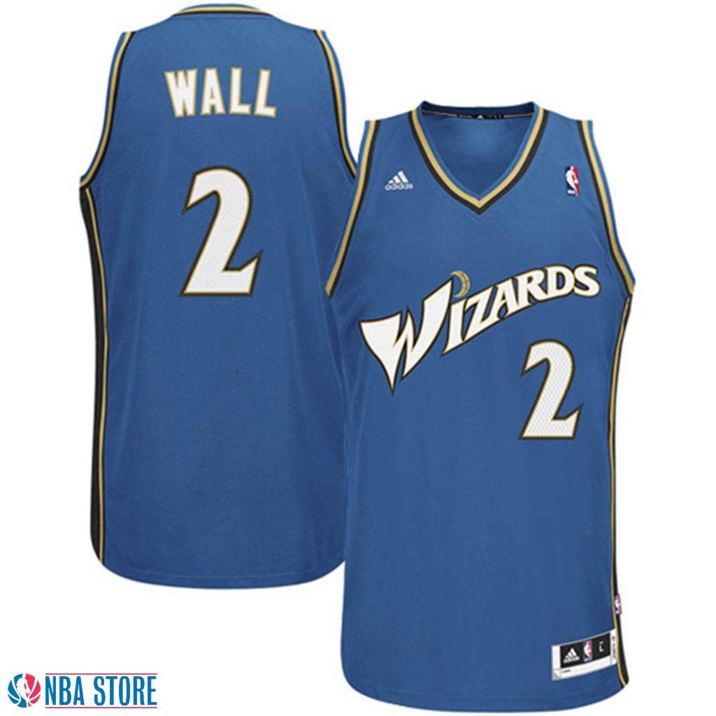 46d68589967 John Wall Washington Wizards  2 Revolution 30 Swingman Slate Blue Jersey