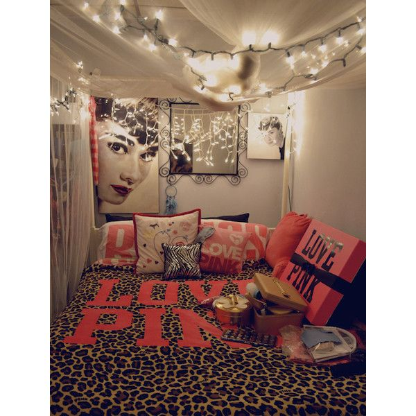 Girly Bedroom Audrey Hepburn Poster: Beautiful Bedrooms Liked On Polyvore Featuring Bedrooms