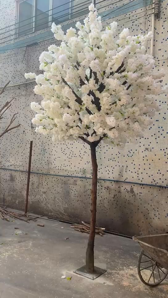 Trending Blossom Trees For Wedding Event Video Cheap Artificial Flowers Artificial Cherry Blossom Tree Blossom Trees