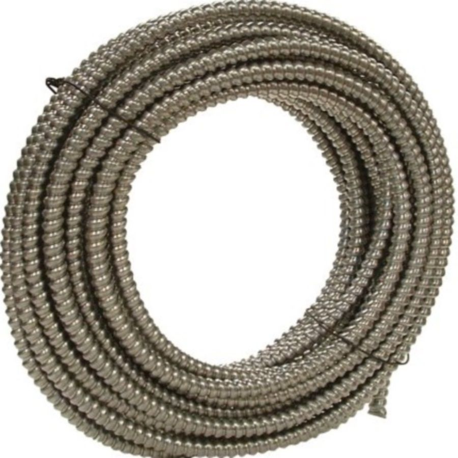 Southwire Metal Flex 100 Ft Conduit Common 1 2 In Actual 0 5 In 55082103 In 2020 Metal Pvc Conduit Flexibility