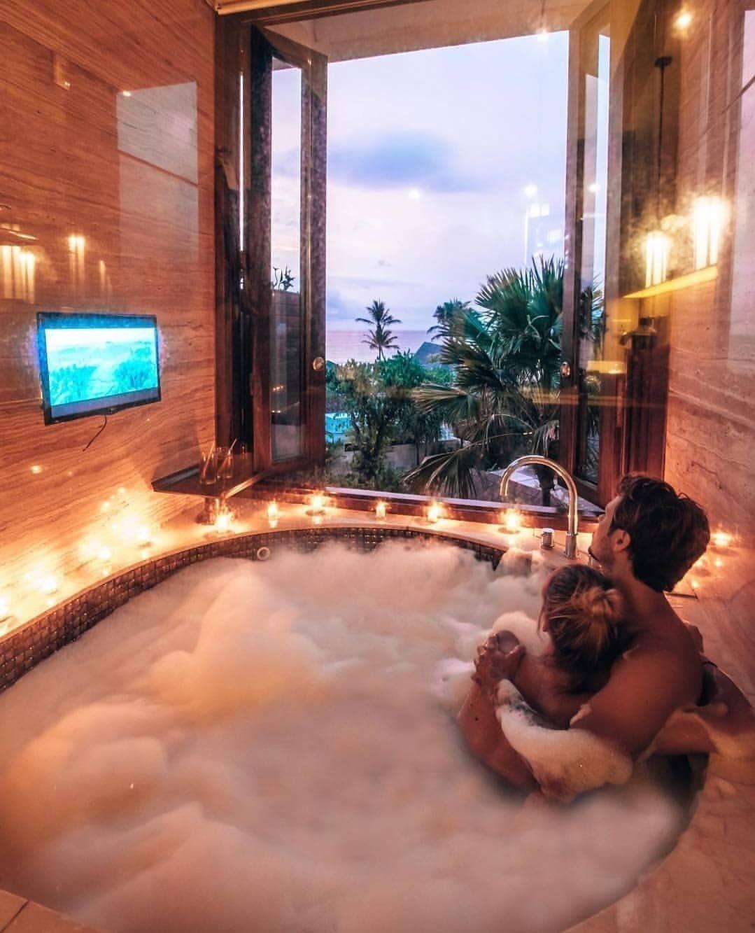 "Living Hotels on Instagram: ""Couple bath 😍 ~ Bali ..."