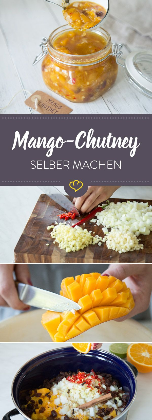 Traditionelles Mango-Chutney #tomatocreamsauces