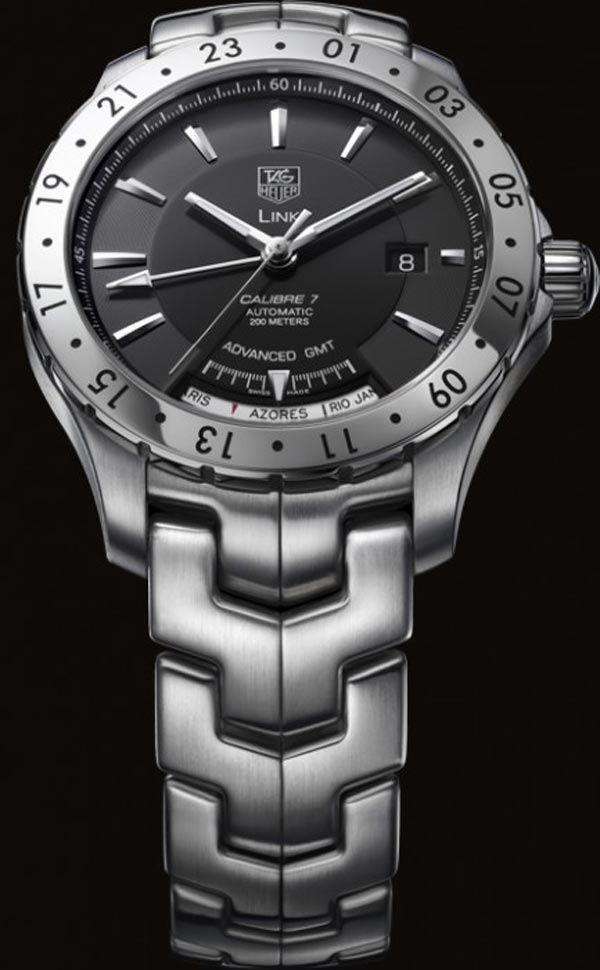 tag heuer link calibre 7 advanced gmt watch magnetic bezel men s tag heuer link calibre 7 advanced gmt watch magnetic bezel men s watch