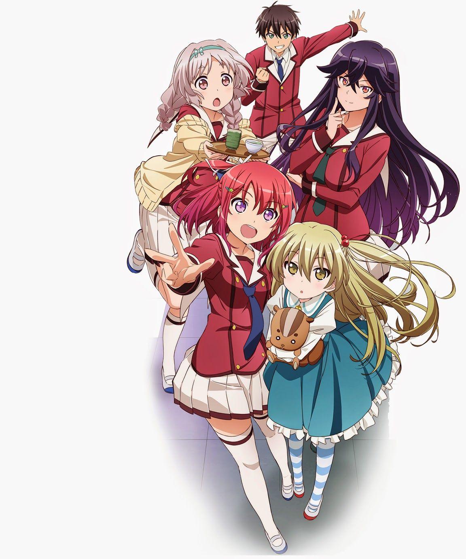 Inou battle wa nichijou no naka de Anime, Manga, Tonari
