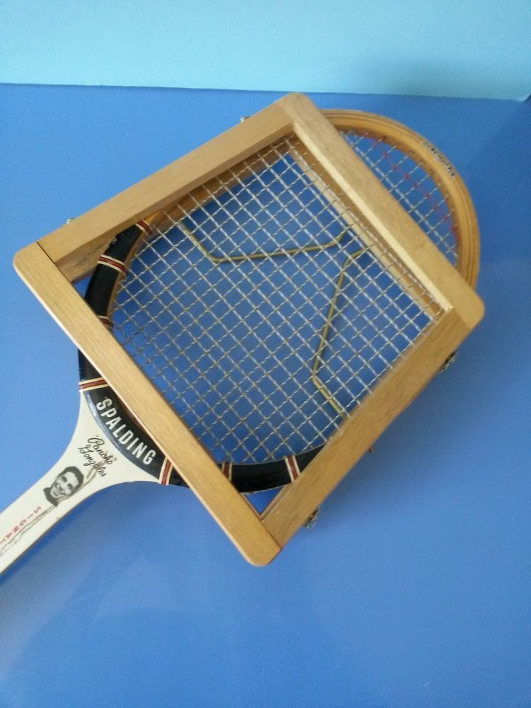 Rare Vintage Spalding Pancho Gonzales Tennis Racket With
