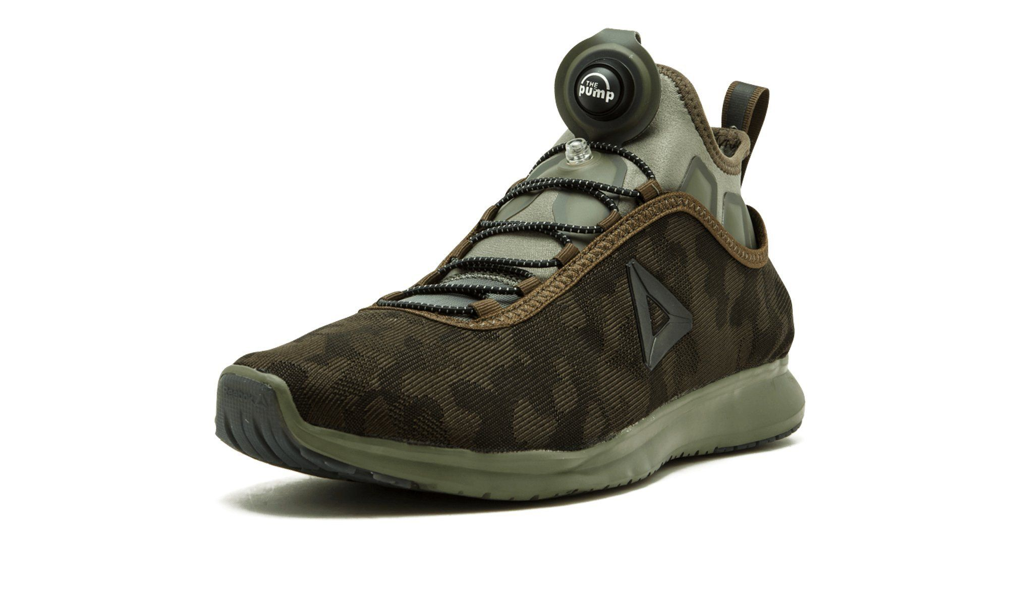 018a073cf Reebok Mens Pump Plus Camo Running Shoe Moss Hunter Green 9.5 M US      Learn more by visiting the image link. (This is an affiliate link)   RunningEquipment