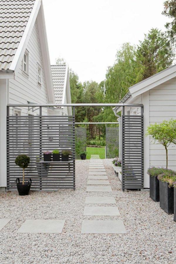 Allées de jardin créatives pour votre extérieur Gardens, Garden - Dalle De Beton Exterieur