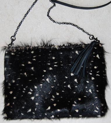 Bolsa carteira pelo com alça corrente na Mab Store - www.mabstore.com.br