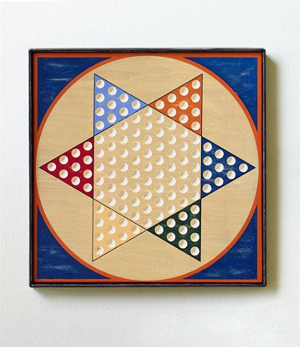 LL Bean Wooden Chinese Checker board