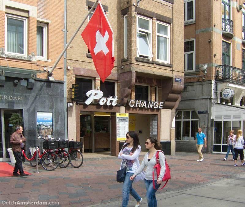 Pott Change Money Exchange In Amsterdam