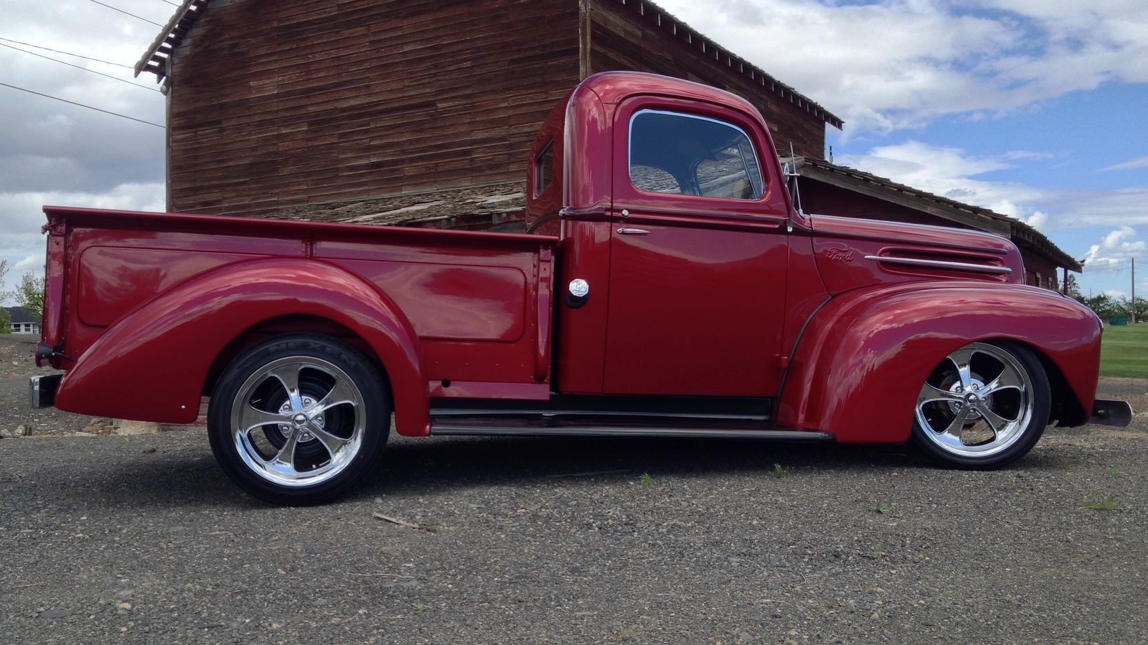 medium resolution of 1947 ford f1 pickup presented as lot f124 at seattle wa