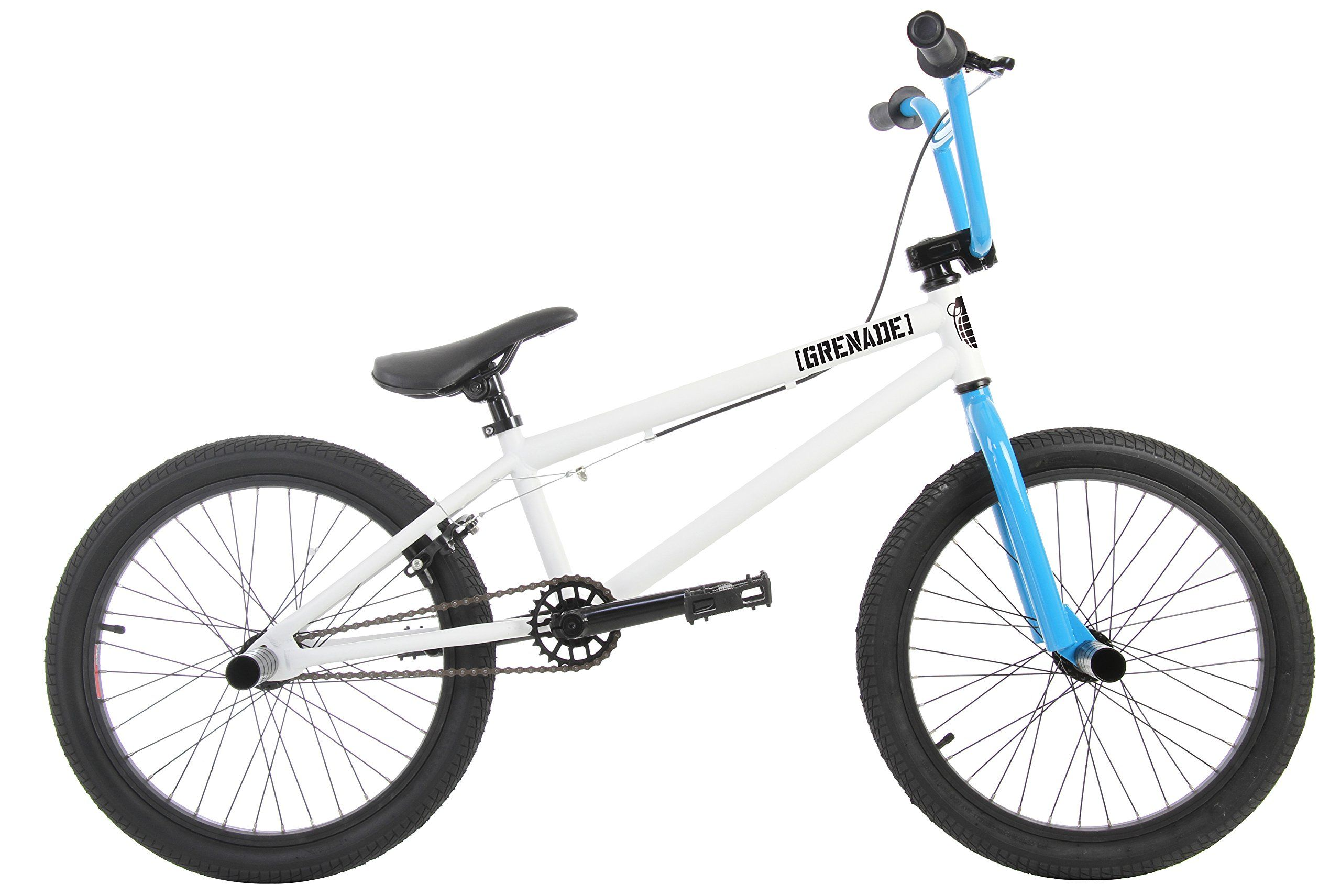 Grenade B2 Bmx Bike 20in Mens Sz 20in 20 5in Top Tube Frame Chromoly Main Tubes Hi Ten Steel Forks Hi Ten Steel Handlebars Hi Ten Best Bmx Bmx Bikes Bmx