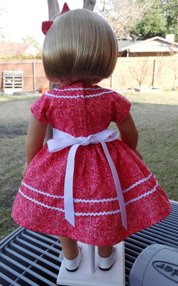 18 D0ll Clothes 1940's/ 1950's style Dress For by Designed4Dolls