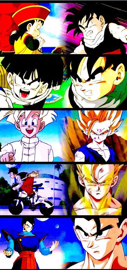 Gohan Through The Ages Songokukakarot Anime Dragon Ball Best Anime Shows Dragon Ball Z