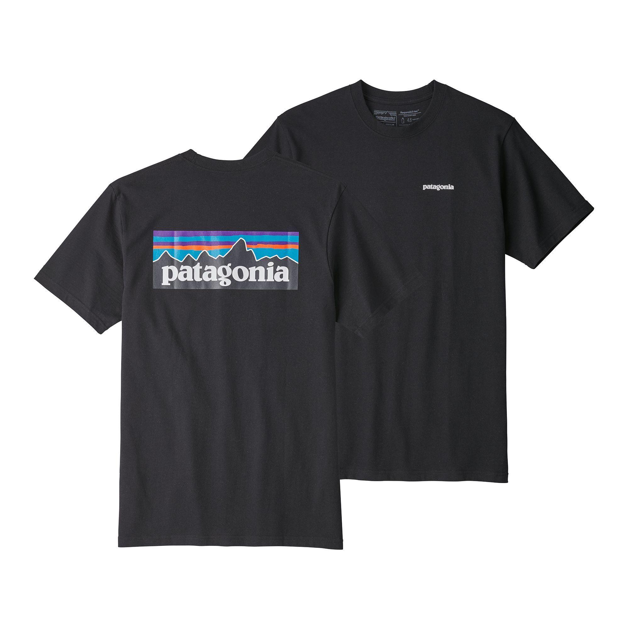 Patagonia Men's P6 Logo ResponsibiliTee Shirts