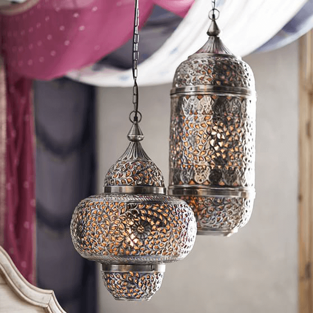 Moroccan Style Hanging Lanterns Tiny Home