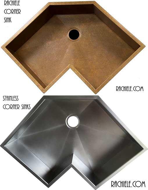 Corner Stainless Sink Custom Sinks Sink Design Sink