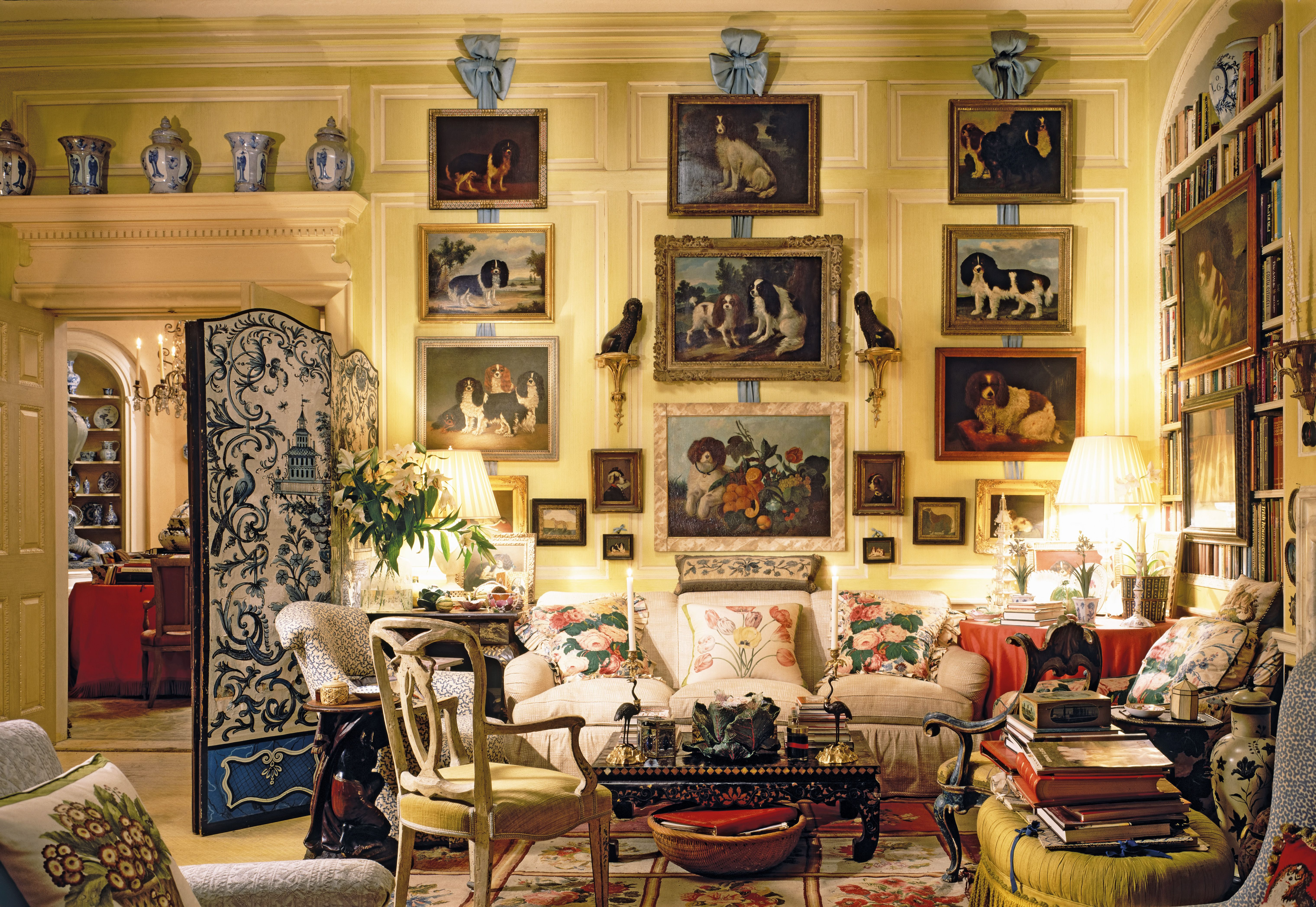 Mario Buatta S Living Room Mario Buatta American Interior
