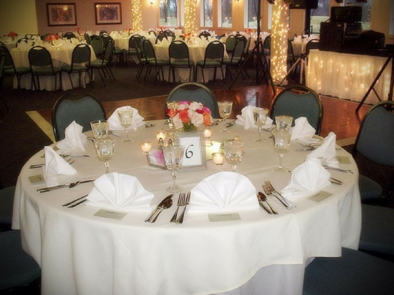 Bent Tree Golf Club offers three wedding packages that