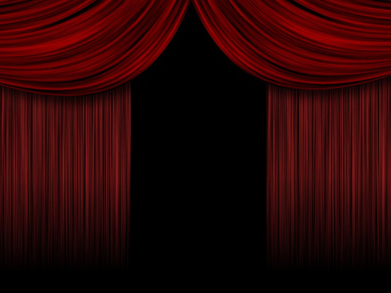 Red stage curtains open - Curtains Stage Curtainsred