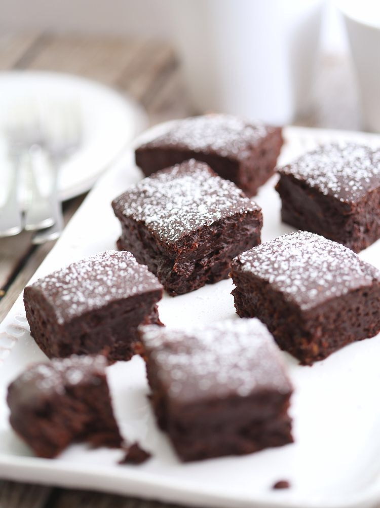 Saftige og sunne brownies