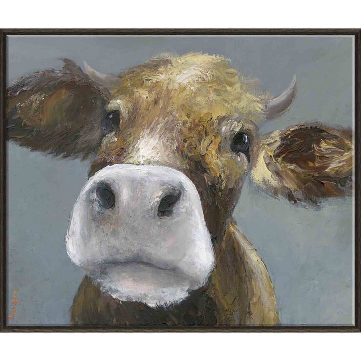 Farm Cow Moo Face Wall Art 30 X 36 In In 2020 Cow Wall Art Farm Wall Art Cow Nursery